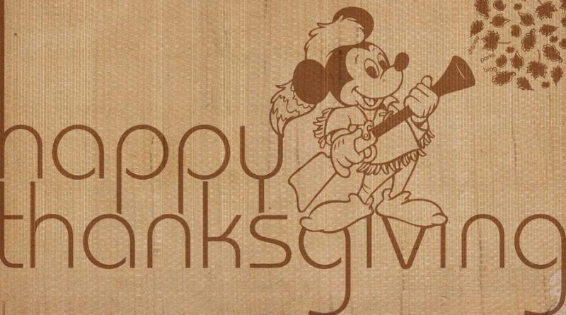 Disney Vacation Club Thanksgiving Feast