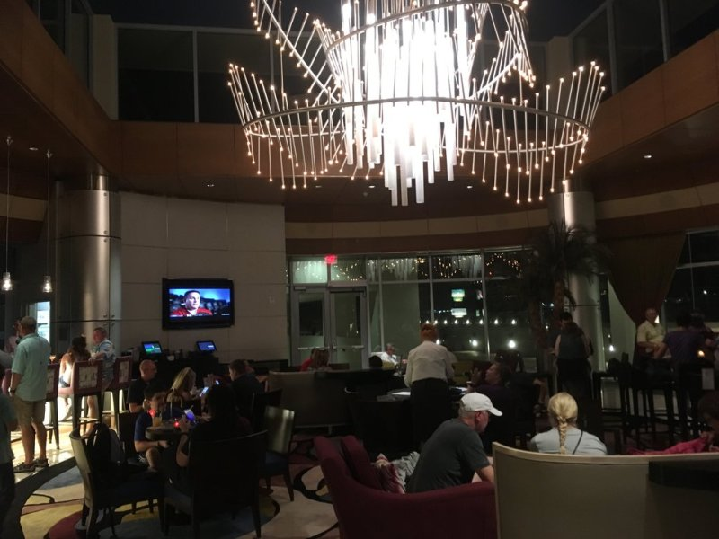 Top of the World Lounge at Bay Lake Tower