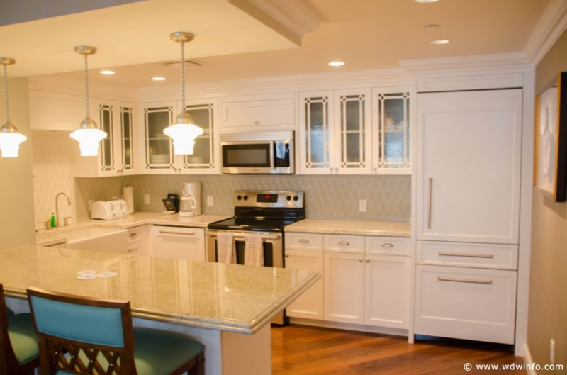 Grand Floridian - Three Bedroom Grand Villa Kitchen