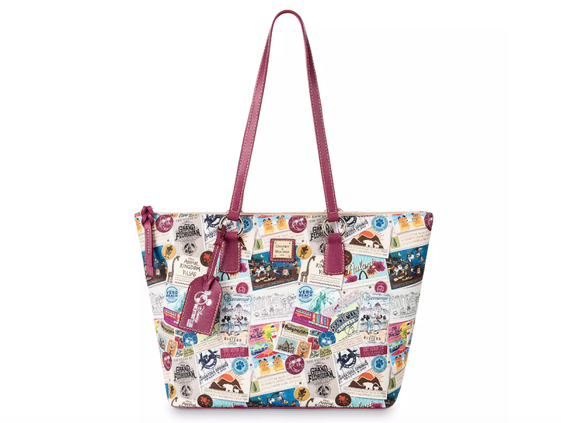Disney Vacation Club Zip Tote by Dooney & Bourke - $268