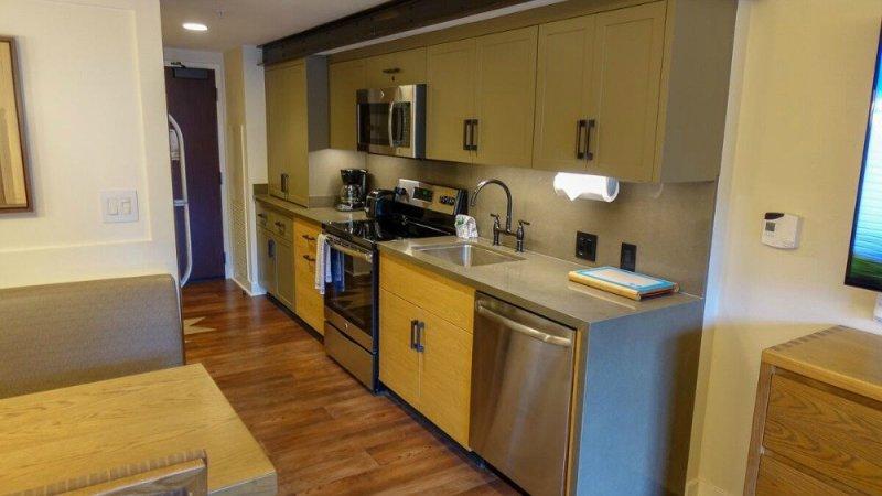 Copper Creek - Two Bedroom Villa Kitchen