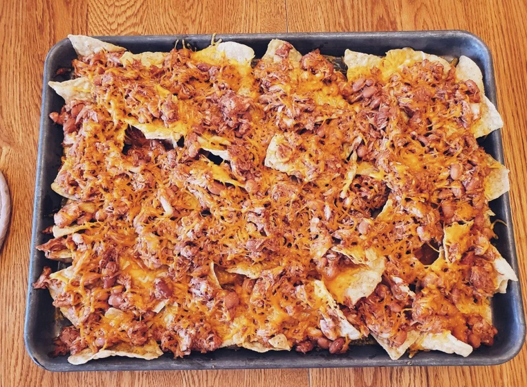 DVC Cooking - BBQ Chicken Nachos