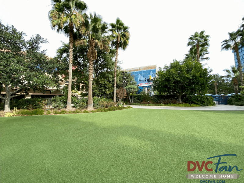 Proposed Location of DVC Tower at Disneyland Hotel