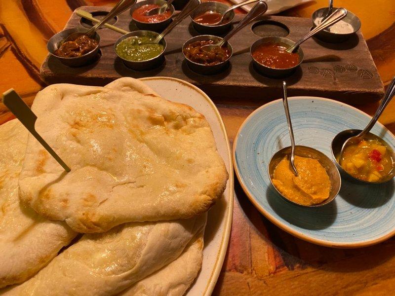 Sanaa Indian-Style Bread Service