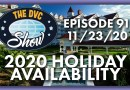 2020 Holiday Availability