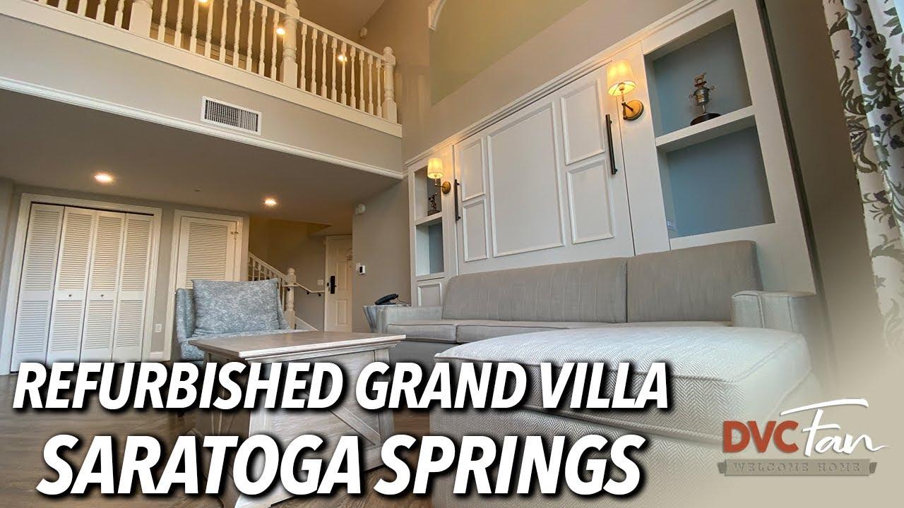 Saratoga Springs Refurbished Grand Villa Tour Dvc Fan
