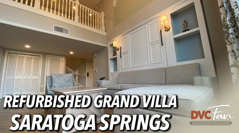 Refurbished Grand Villa Saratoga Springs