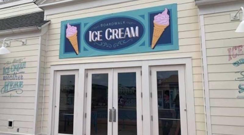 Boardwalk Ice Cream Shop