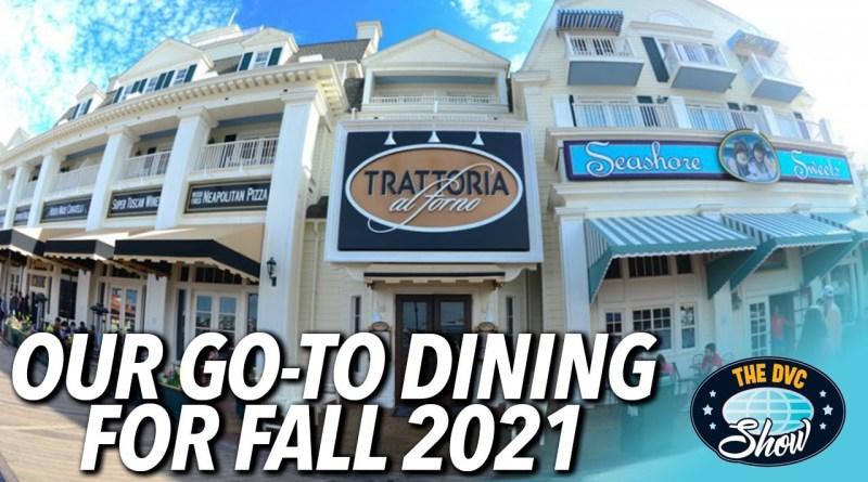 Fall Disney Dining