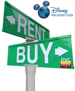 Buy DVC or Rent?