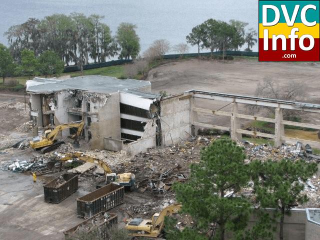Contemporary North Garden Wing Demolition