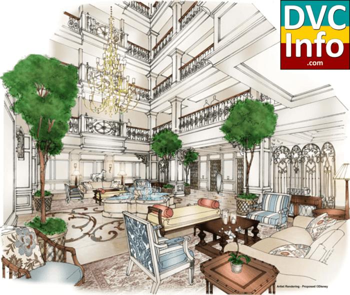 Disney's Grand Floridian DVC concept - lobby