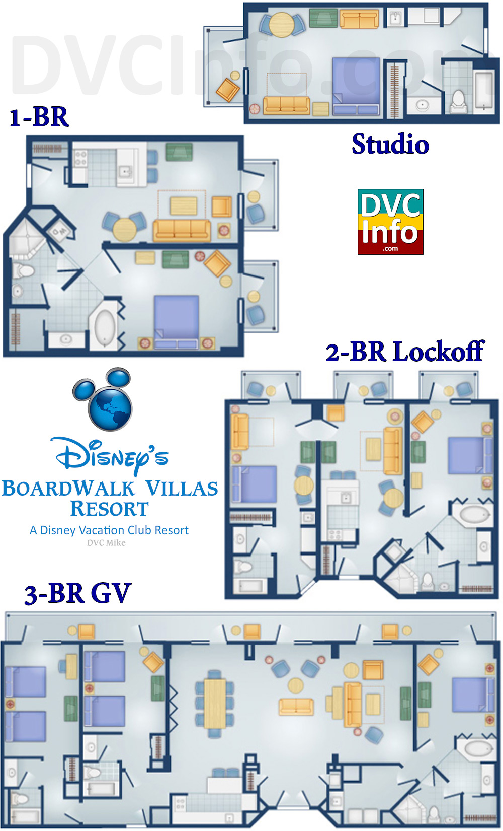 disney s boardwalk villas dvcinfo com floor plans dvc boardwalk resort modern home design and