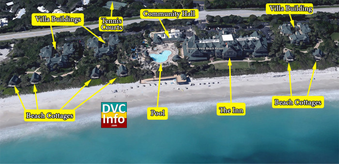 Satellite View of Disney's Vero Beach Resort