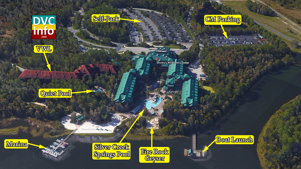 The Villas At Disneys Wilderness Lodge on Villa Old Key West Map