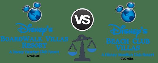 Boardwalk Villas vs. Beach Club Villas