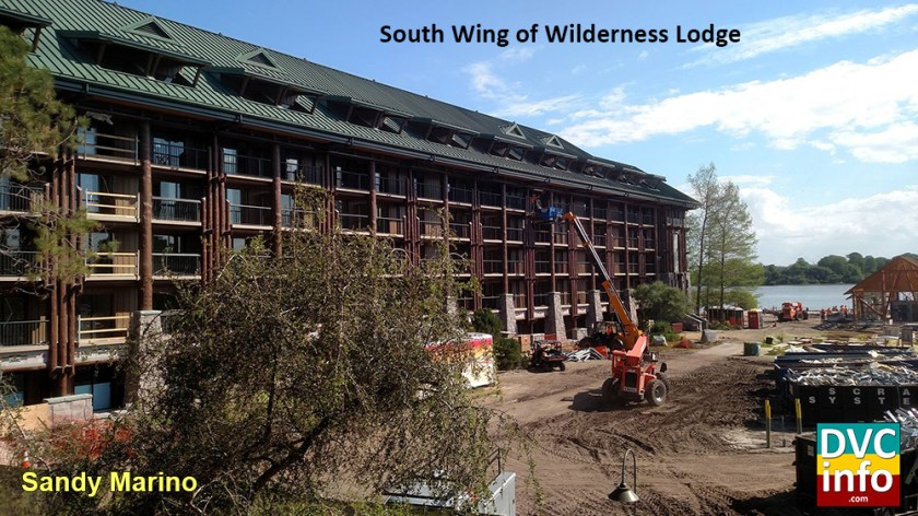 South Wing Wilderness Lodge DVC