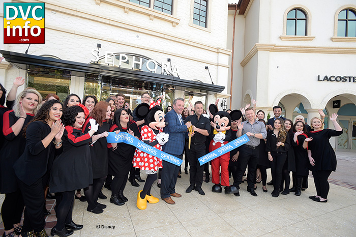 Disney Springs Opens First Phase of Town Center