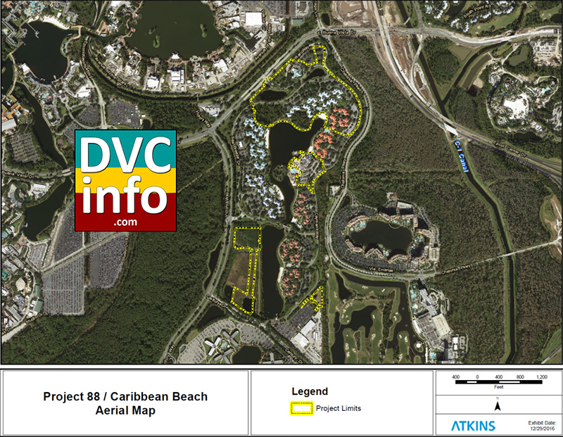 Project 88 DVC at Caribbean Beach