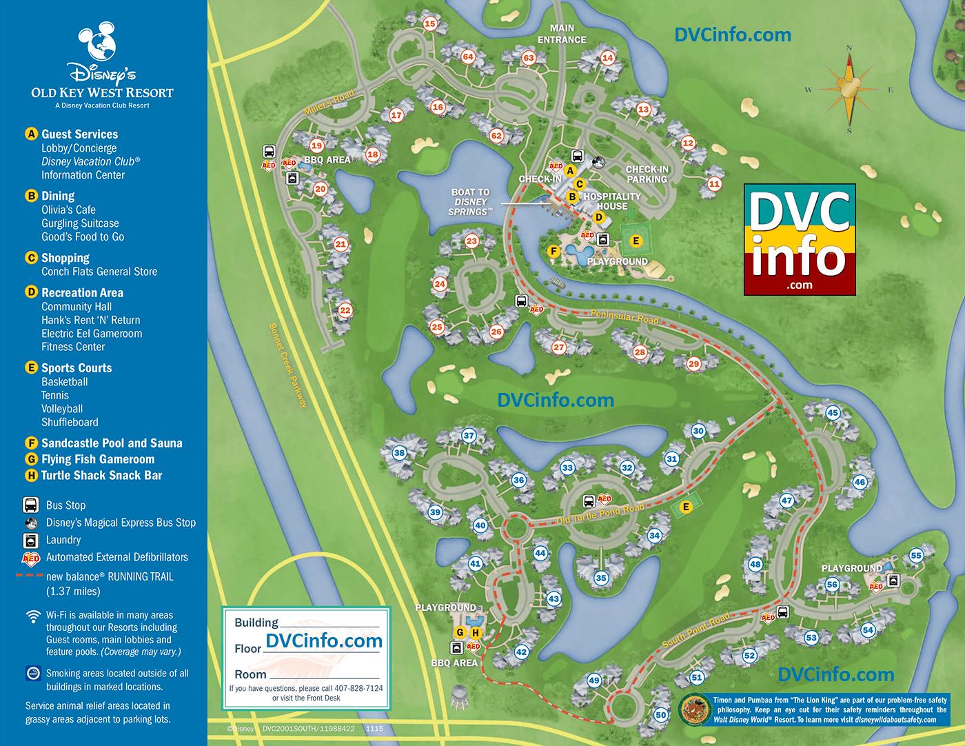 Disney's Old Key West Resort - DVCinfo on