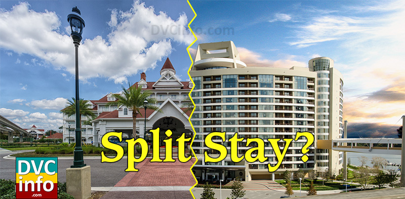 Booking a DVC Split Stay