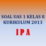Soal Penilaian Akhir Semester UAS 1 IPA Kelas 8 SMP Kurikulum 2013