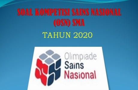 Kumpulan Soal Olimpiade Sains Nasional Persiapan OSN SMA 2020