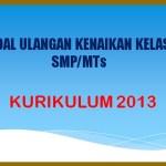 Latihan Soal UKK PAT Bahasa Indonesia Kelas 8 SMP MTs K13