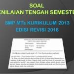 Soal PTS Prakarya Kelas 9 SMP MTs Semester 1 K13 Edisi Revisi 2018