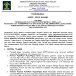 Penerimaan Calon Taruna Poltekip dan Poltekim Kemenkumham 2021