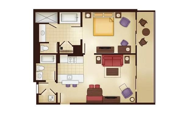 dak floorplan 1 bedroom kidani
