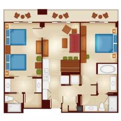 Sleeper Sofas Queen Size Oakridge Madrid Sofa Covers Copper Creek Villas & Cabins At Disney's Wilderness Lodge ...