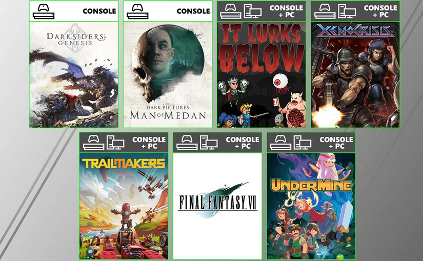 Xbox Game Pass August 2020