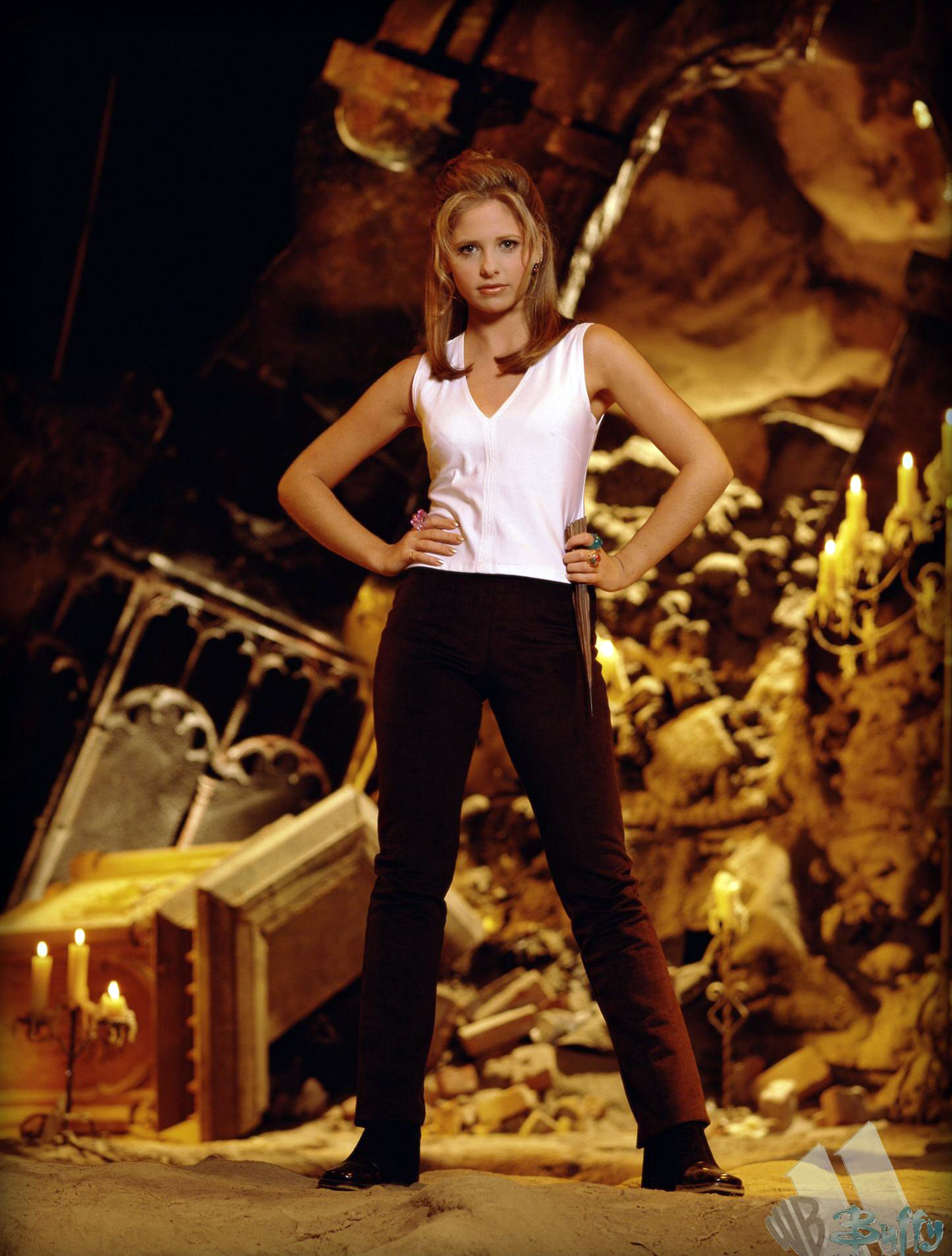 Buffy 2013 Gallery 03 Sarah Michelle Gellar Photos Part 2  DVDbash