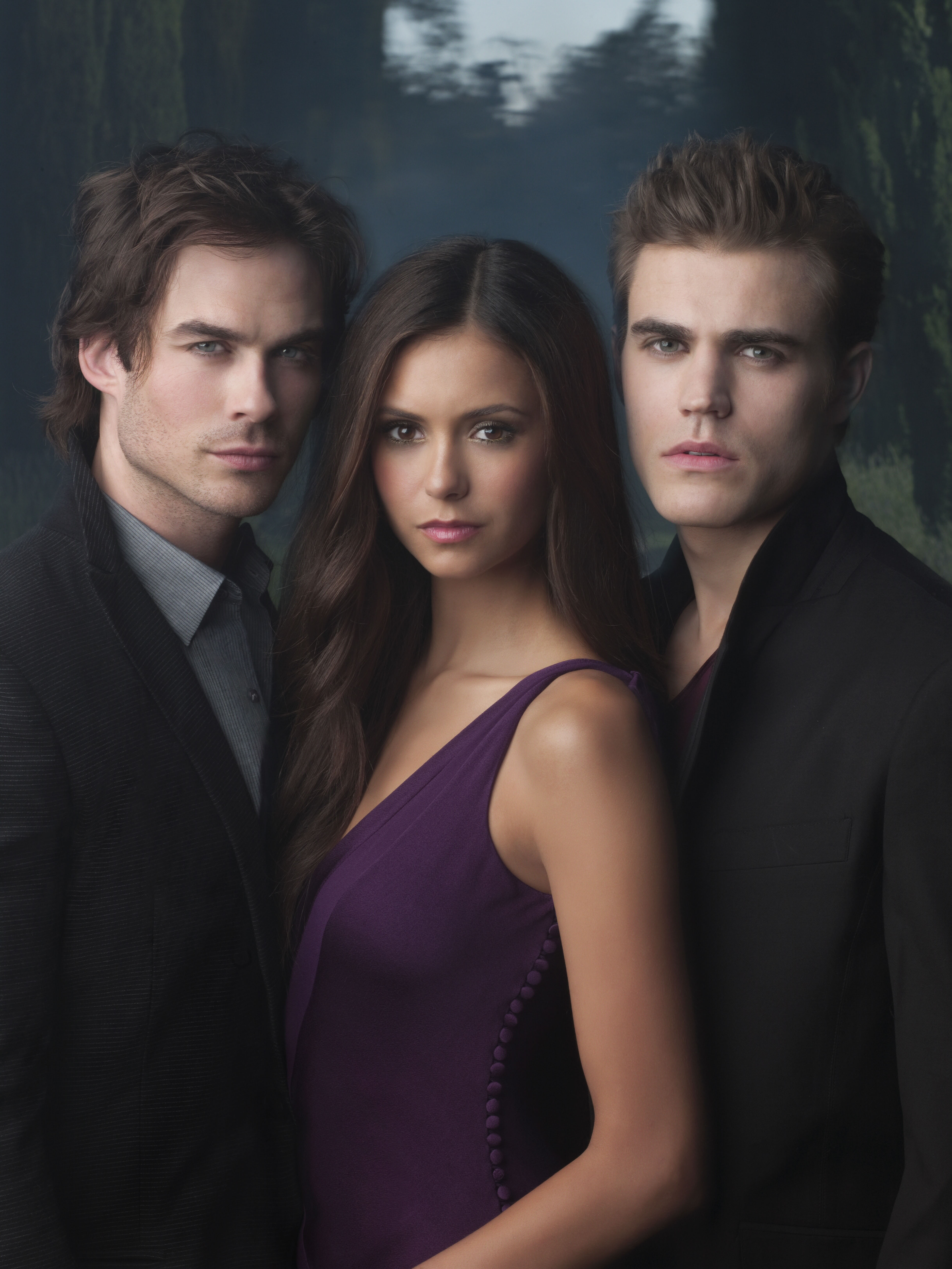 The Vampire Diaries Saison 1 : vampire, diaries, saison, Vampire, Diaries, Season, Promo, Photos, DVDbash