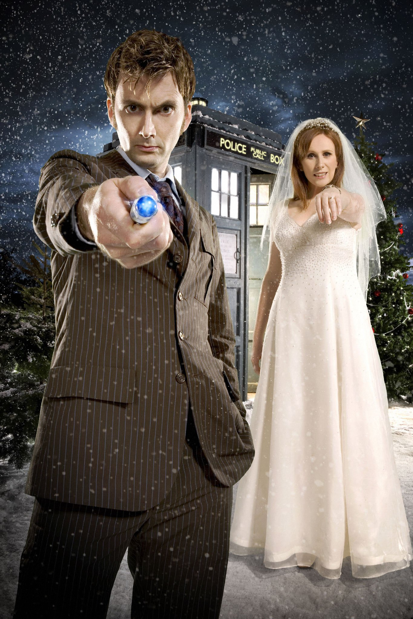 Doctor Who TV Series 2 Story 178 The Runaway Bride Special Christmas 2006  DVDbash