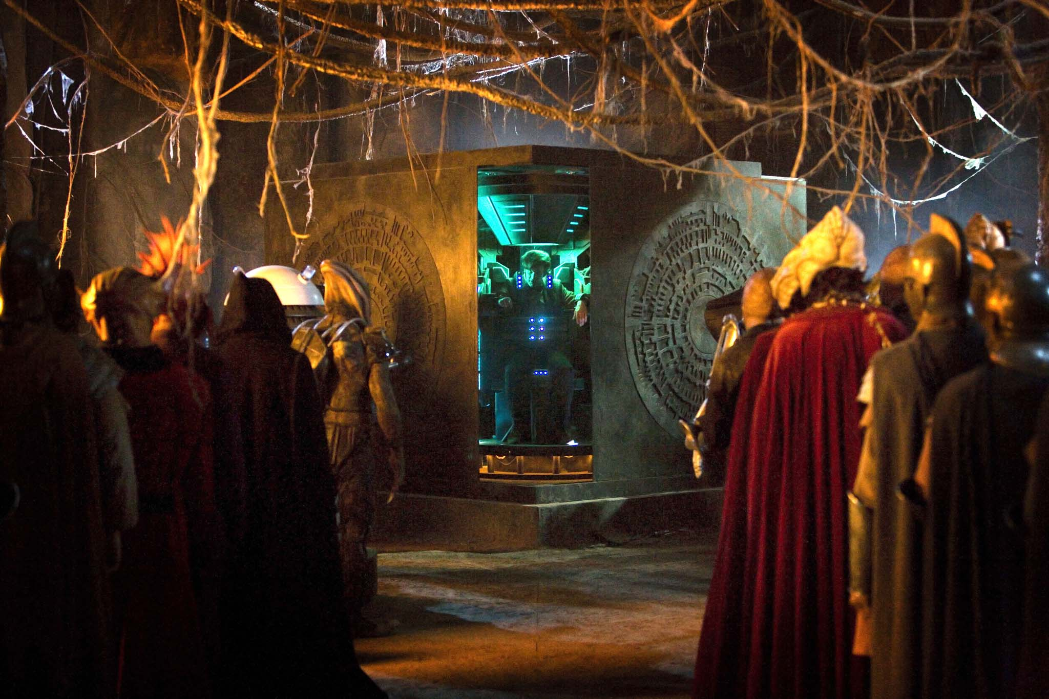 Fall Painting Wallpapers Doctor Who Tv Series 5 Story 212 The Pandorica Opens The