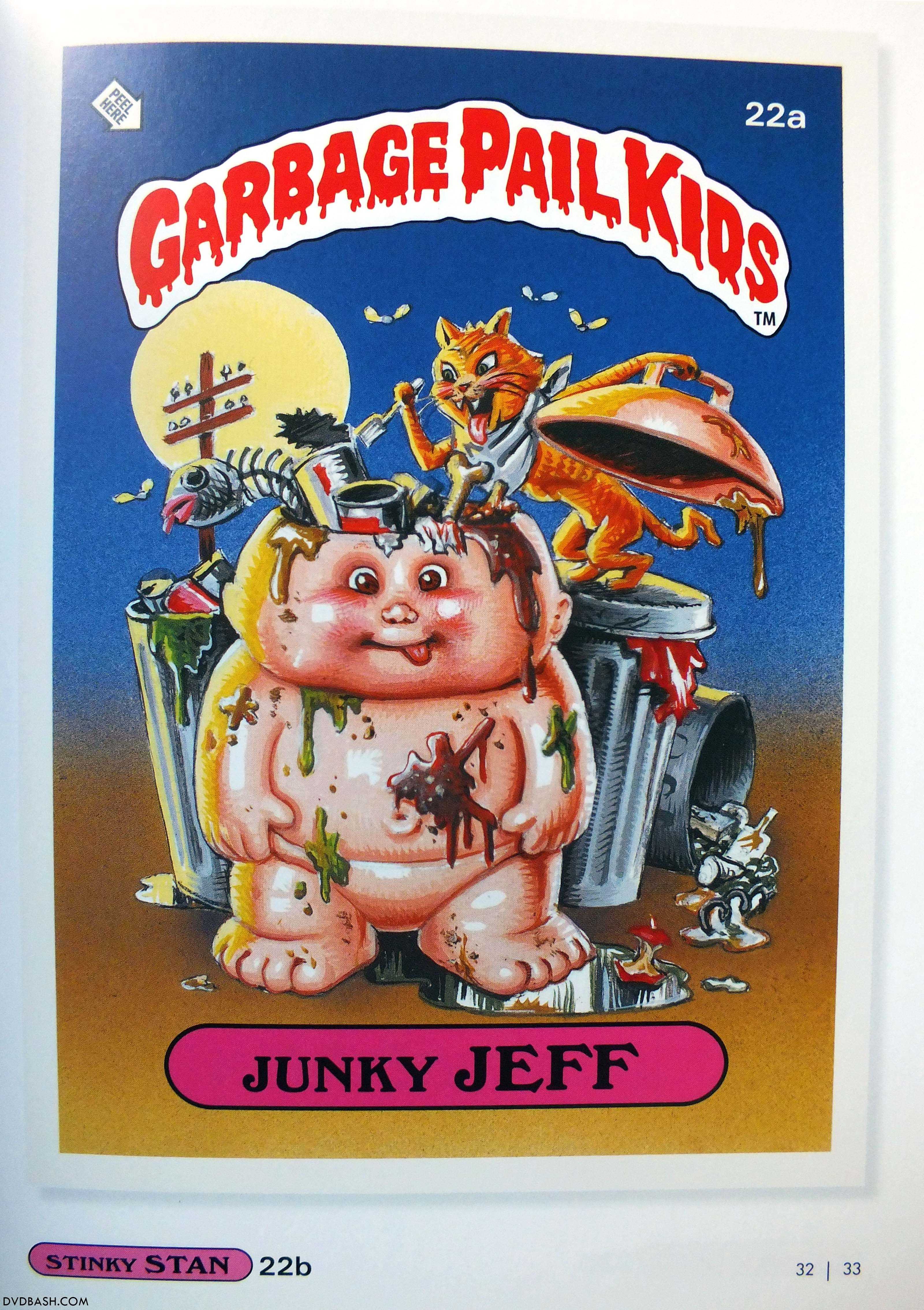 Topps Trading Cards Books  Garbage Pail Kids GPK  DVDbash
