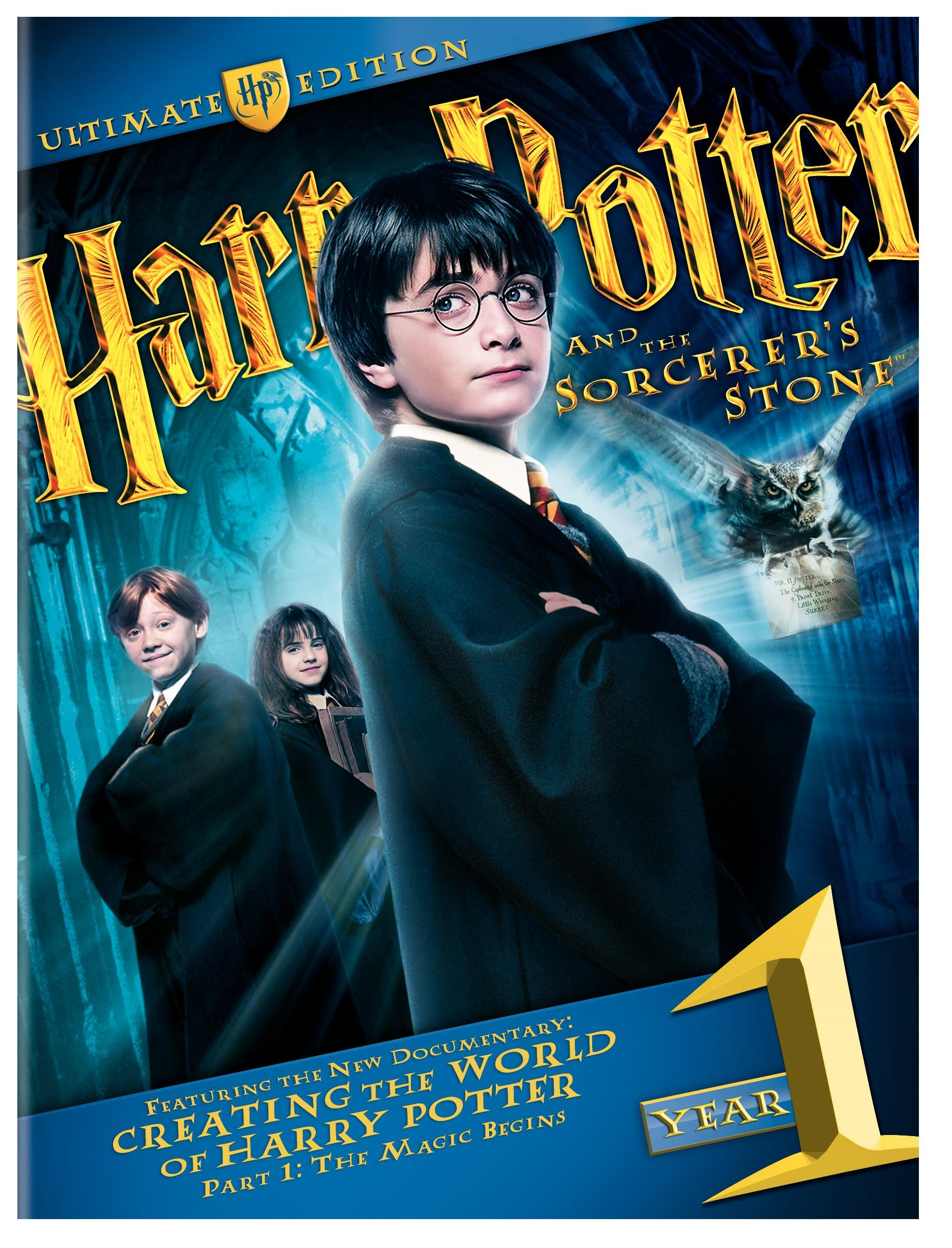 Harry Potter And The Sorcerer S Stone Ultimate Edition Blu