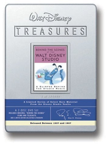 Walt Disney Treasures Behind The Scenes At The Walt Disney Studio IGN