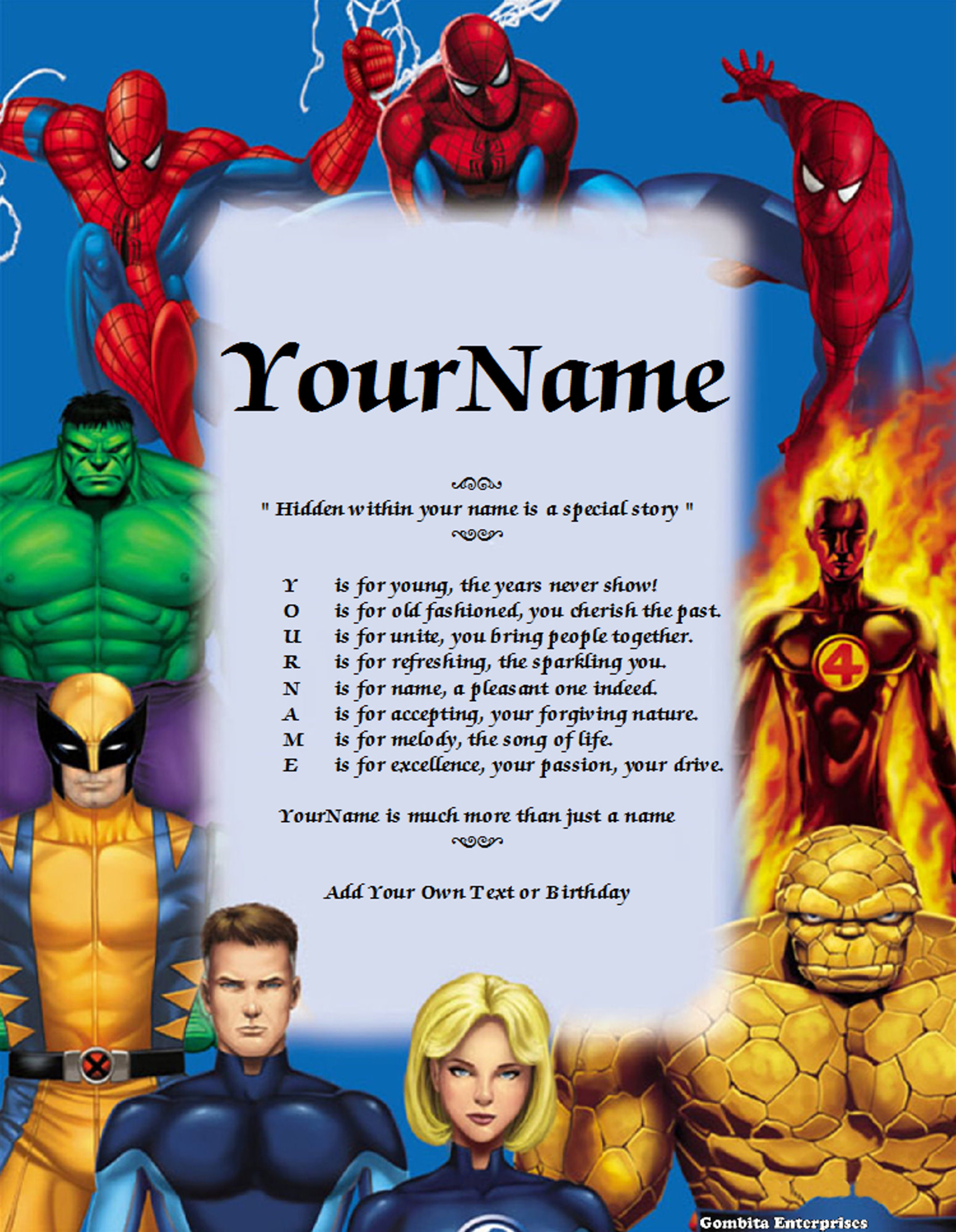 Spider Man Poem : spider, Spiderman, Story, Version