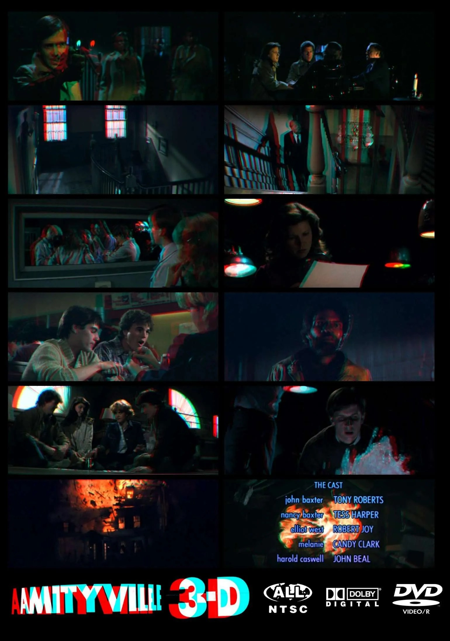 Amityville 3 D Red Blue Anaglyph 3d Horror Dvd R Dvdrparty