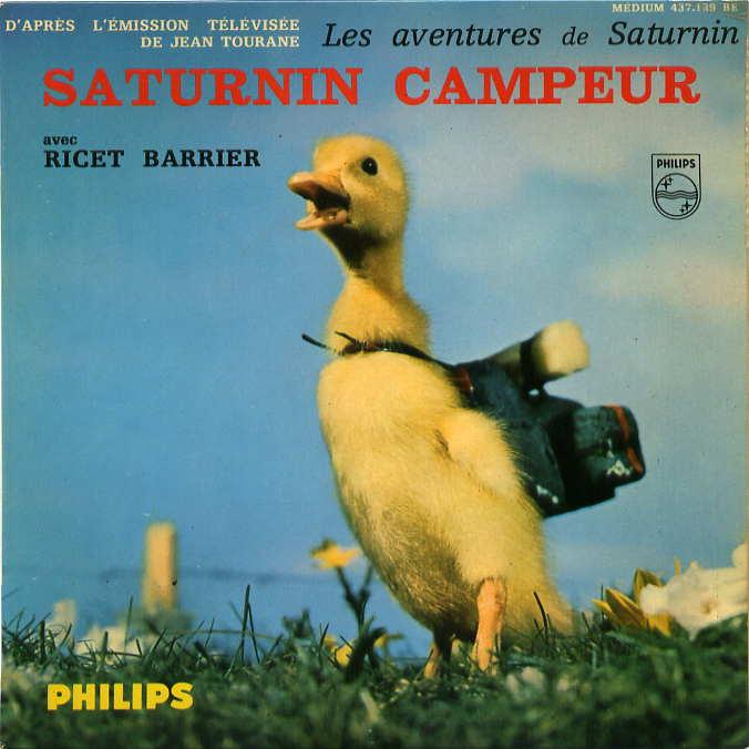 Saturnin le petit canard  DvdToile
