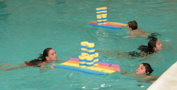 Juegos en el agua para niños
