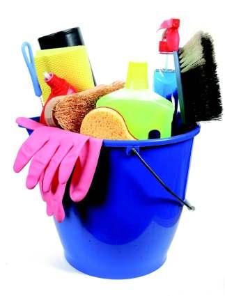 La limpieza de la casa