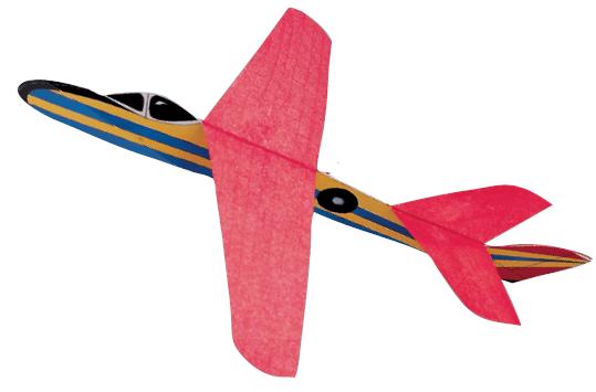 aviones de papel y otros objetos voladores