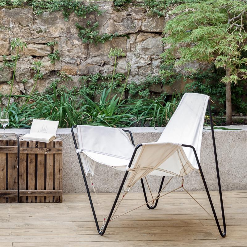 contemporary furniture and shade sails