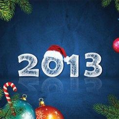С Новым годом 2013