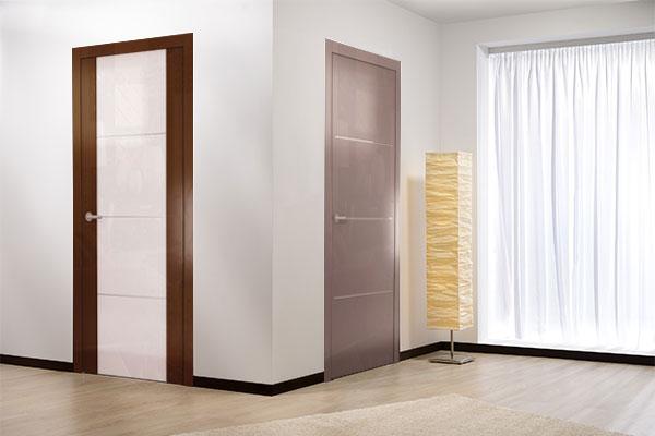 Новая серия глянцевых дверей «Avorio»