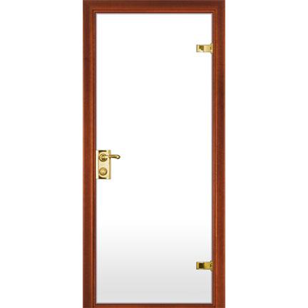 Межкомнатная стеклянная дверь (с матовым белым стеклом)